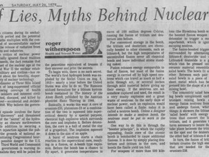 30 Years Of Lies, Myths Behind Nuclear Industry