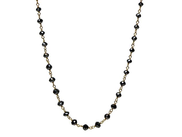 Black Round Diamonds (Medium)