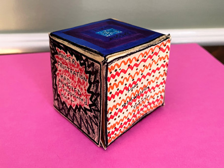 Art Therapy Activity: My Feelings Cube