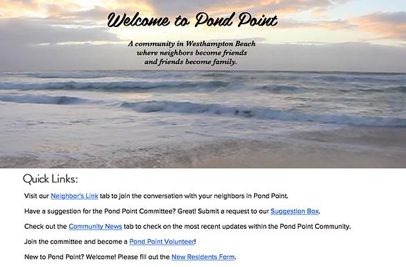 Web Design for Residents Hotels Community