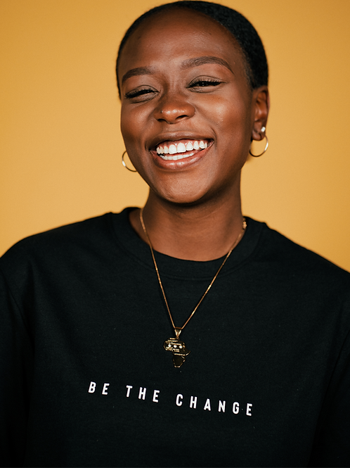 Be The Change Black Sweatshirt