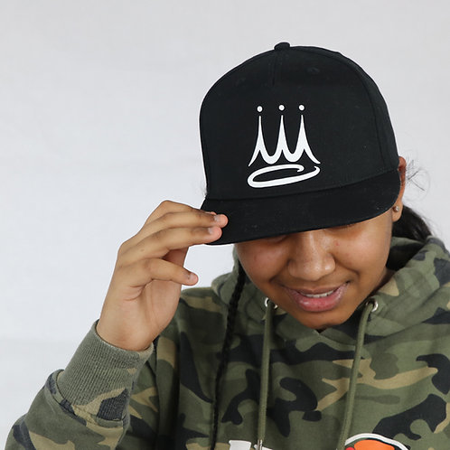 Crown Snapback Cap