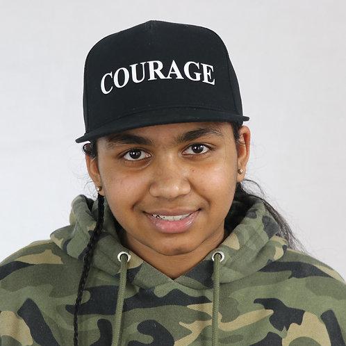 Courage Snapback Cap