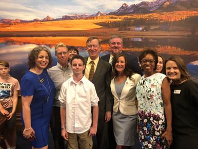 SB18-013 Bill Signing