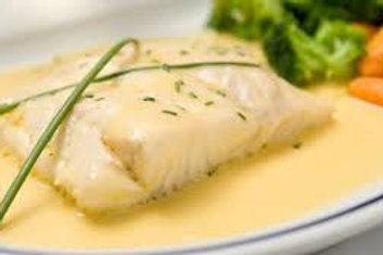 Sandre au beurre blanc