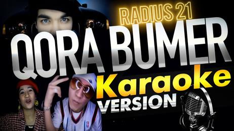 Radius 21 — Qora bumer / KARAOKE / matn / uzbek rap