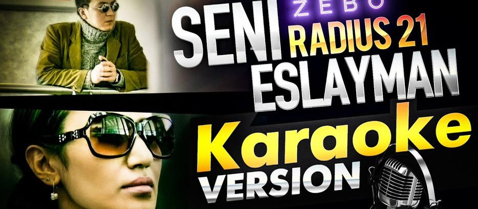Radius 21 — Seni eslayman / KARAOKE / official