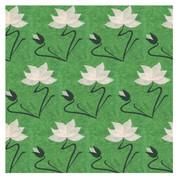 'GREEN NOUVEAU GARDEN' CARD (R.Goodchild