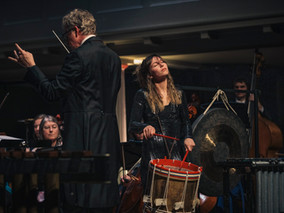 Heartbeat for solo percussion and orchestra