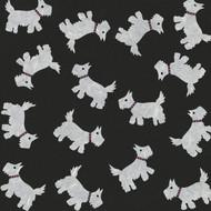 'WHITE SCOTTIE DOGS' CARD (R.Goodchild).