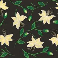 'IVORY NOUVEAU BLOOMS' CARD (R.Goodchild