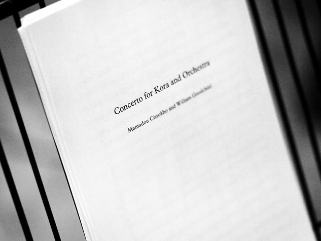 Kora Concerto Recording