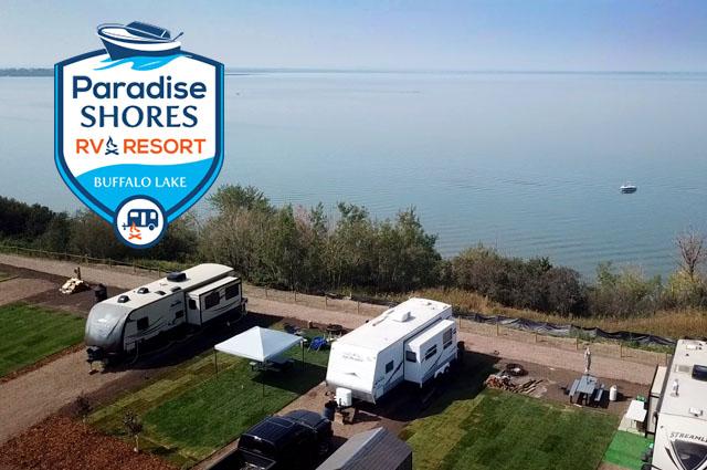 Rv Sites Canada Paradise Shores
