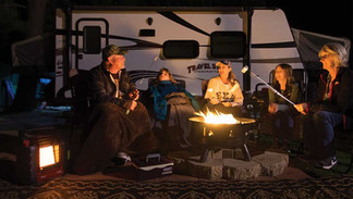 Seasonal Campsite Firepit