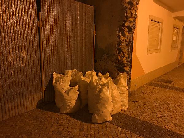'sacks of woe' Vila Real de Santo António