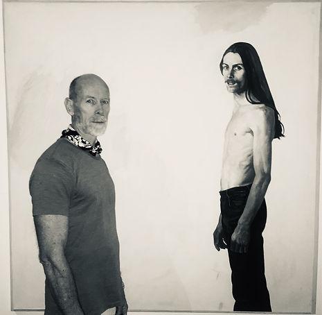 'now and then' portrait on portrait [photo Carmen Schoenborn Chan]