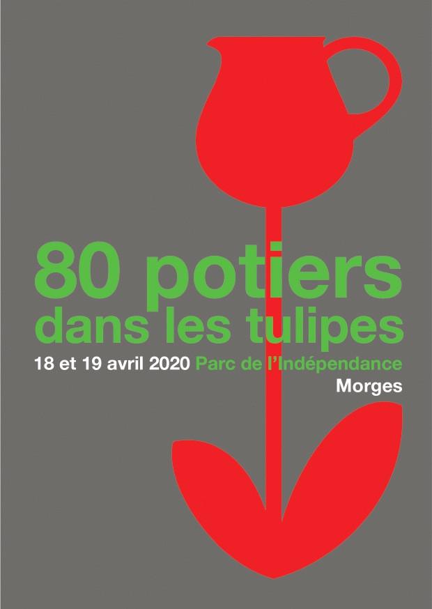 80 Potiers dans les tulipes