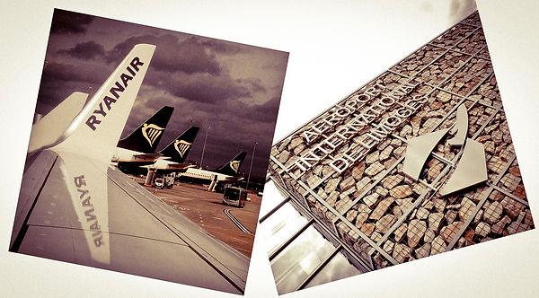 Ryanair planes, Limoge airport