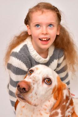 Dog and girl!