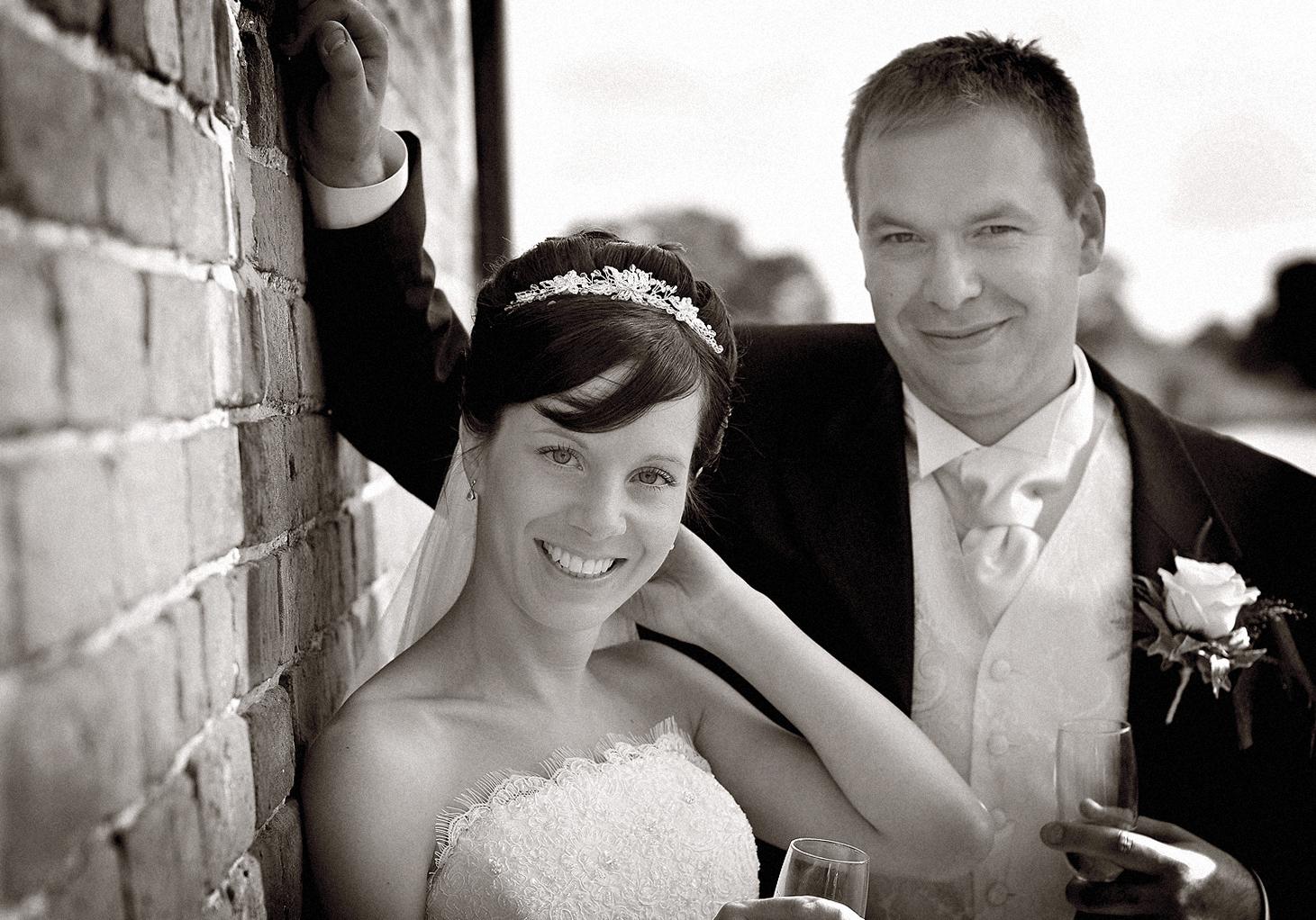Bride, groom, Heaton House