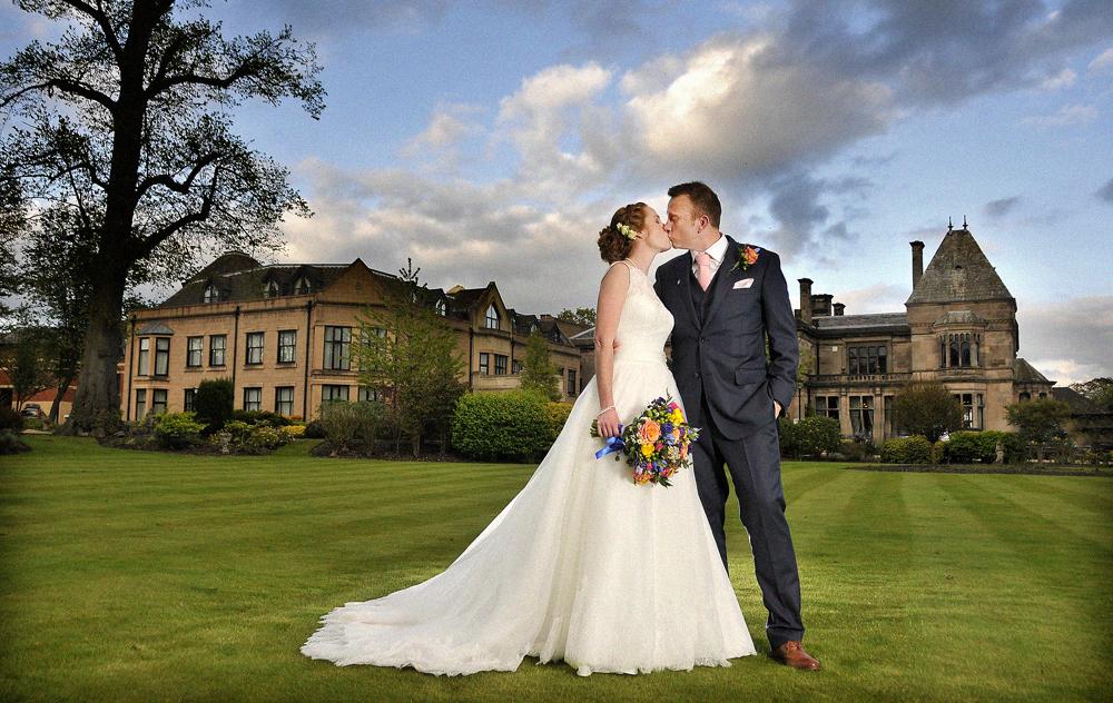 Bride, Rookery Hall, Cheshire