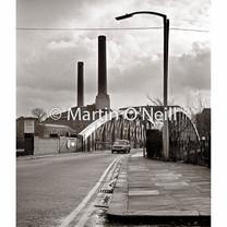 Barton Swing Bridge and Power Station