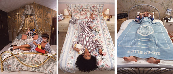 Foo Foo Lamar, Rowetta and James H Reeve .. in bed!