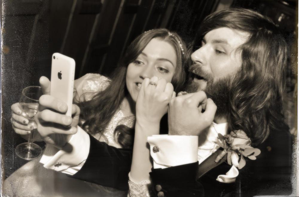 Couple's selfie!, Wedding