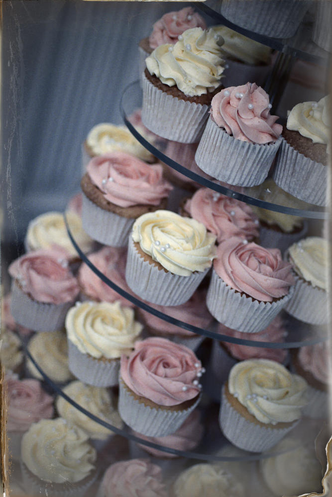 Fairy cakes, wedding, Didsbury