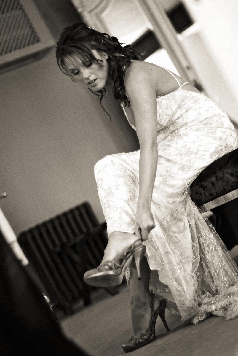 Shoes, bride, Manchester