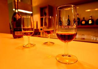 Remy Martin, Cognac, glasses, bottle