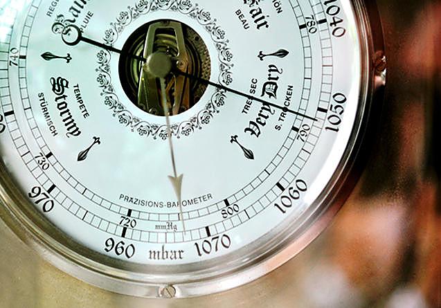 Barometer, wedding, weather
