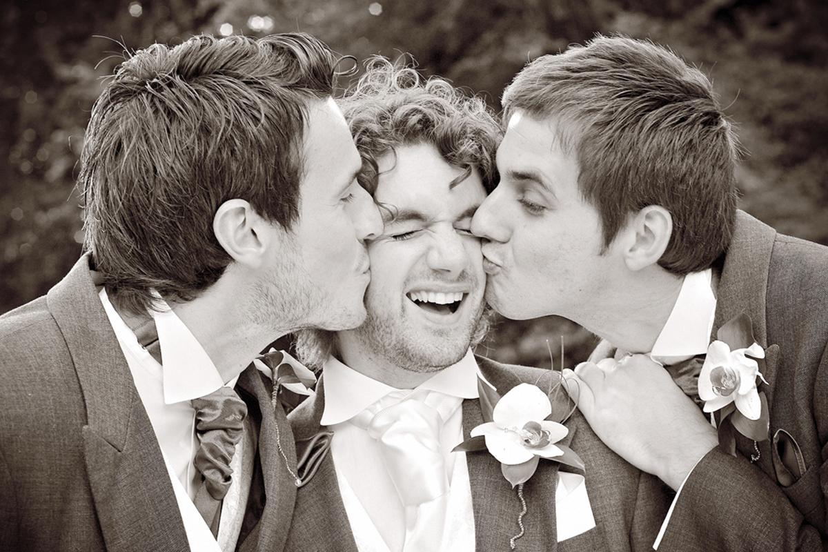 Groom, groomsmen, wedding