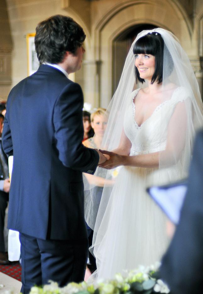 Wedding ceremony, Manchester Ha