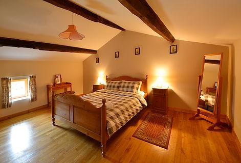 bedroom in gite