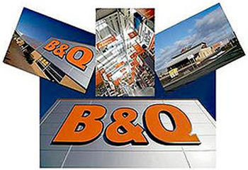 B and Q warehouse photography