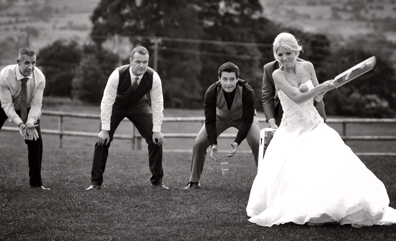 Bride, Cricket, Heaton House Farm