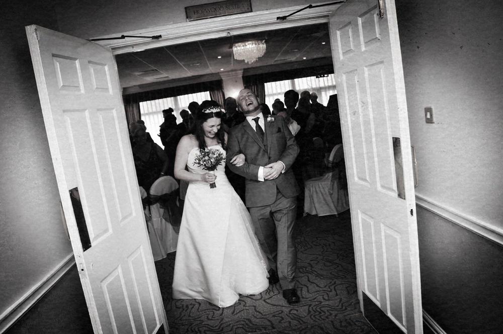 Bride, groom, wedding ceremony