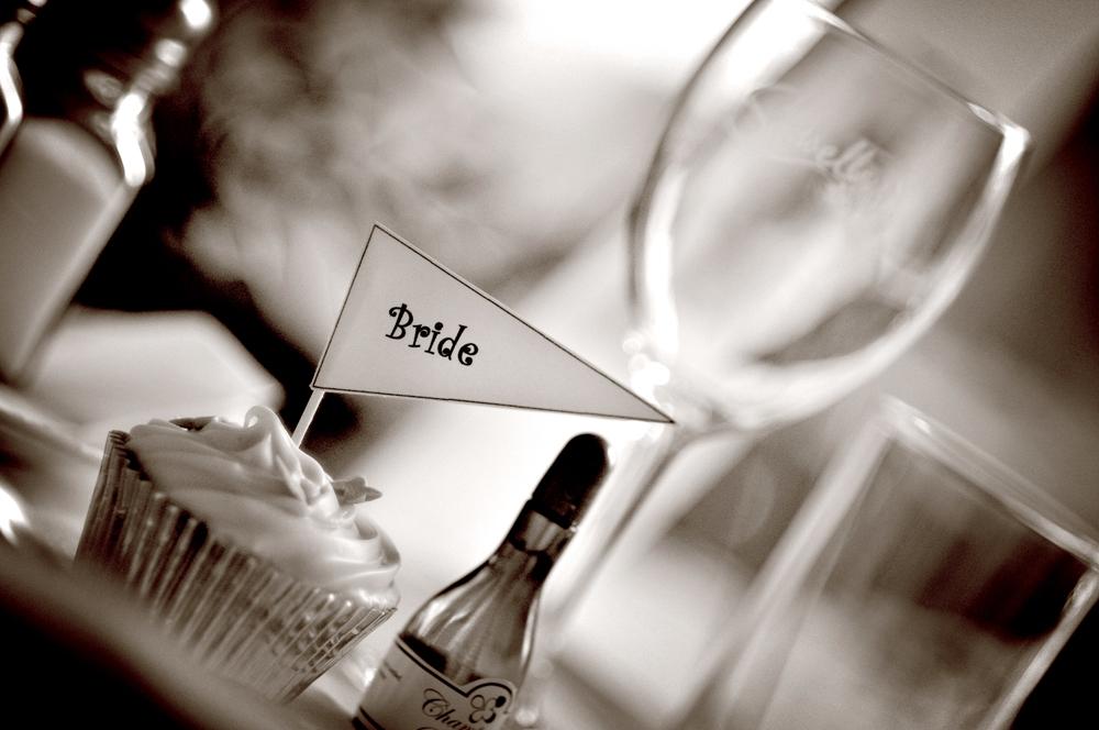 Place name, wedding, bride