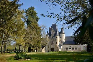 Chateau, blue sky