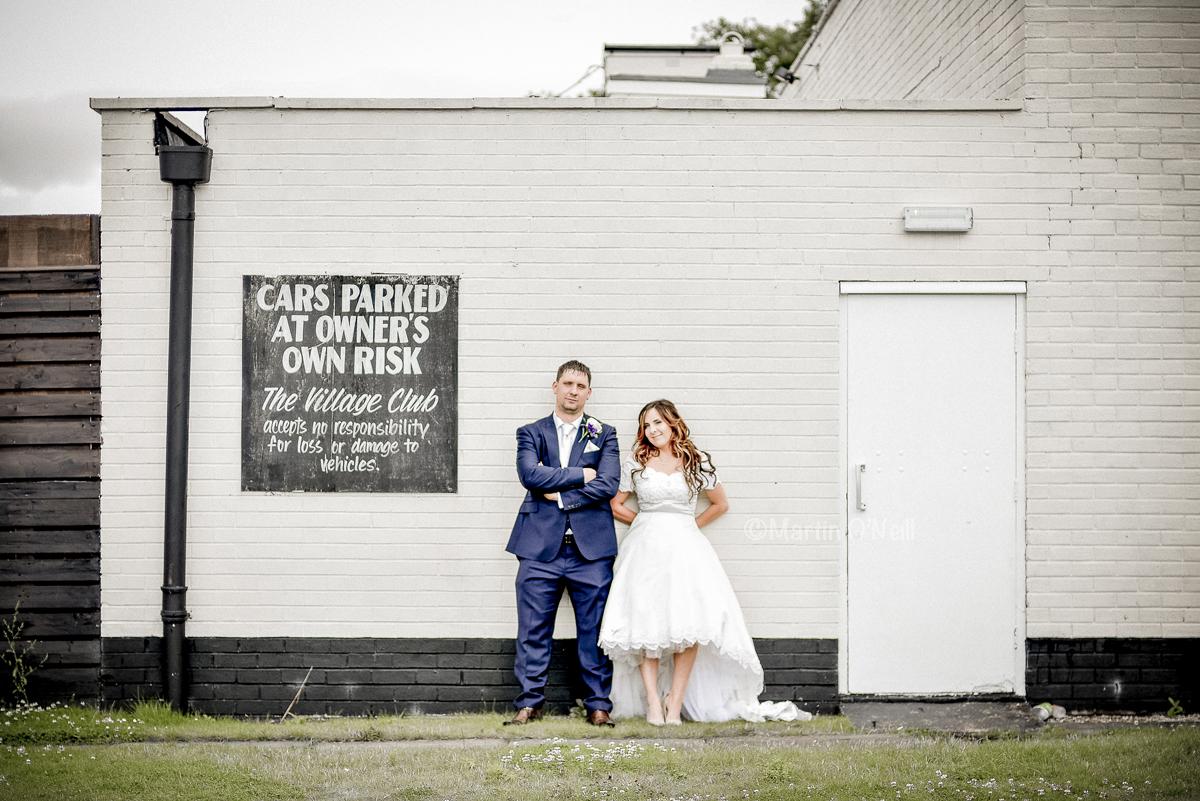 bride, groom, wedding reception