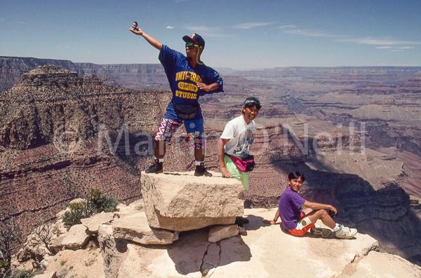 Minnie at Grand Canyon