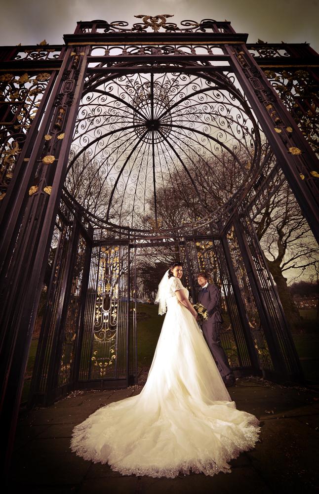 Wedding, Hollin HaIl,The'Bird-cage'