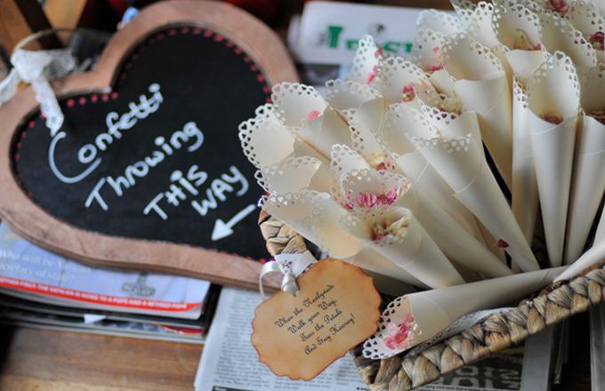 Confetti, Wedding, Lymm