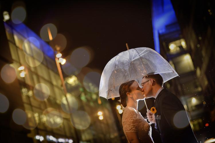 Media City, Wedding, Couple