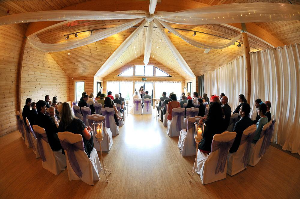 Wedding Ceremony, Styal Lodge