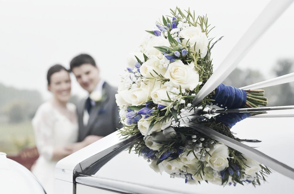 Bridal bouquet, Willington Hall