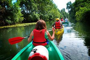 canoe, canoiest, river