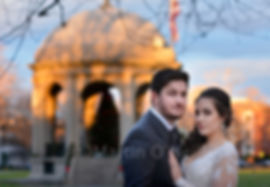 groom, bride, Salem common.