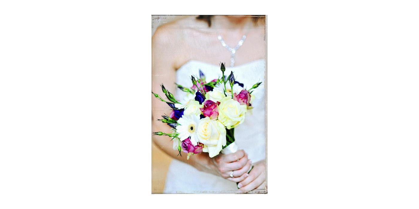 bride, bouquet, roses